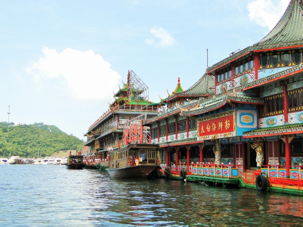 Jumbo Floating Restaurant, Aberdeen, Hong Kong