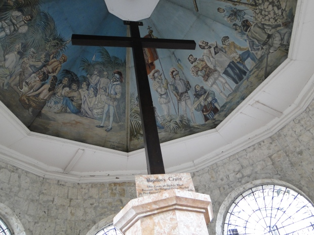 Magellan's Cross, planted in March 15, 1521 by the famous explorer