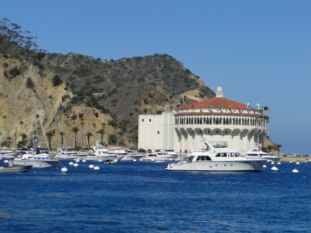 The Iconic Catalina Casino now used as a theater, ballroom and museum