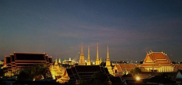 Bangkokniteskyline